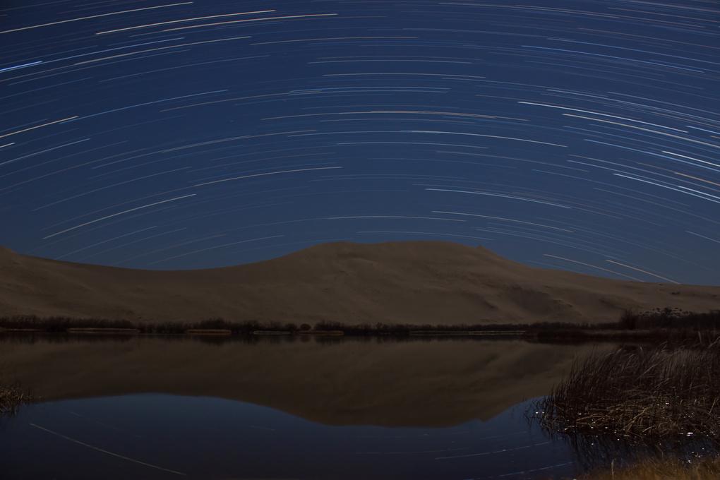 Dune Star Trails by Randal Davis