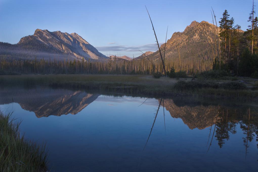 Mountain Reflections by Randal Davis