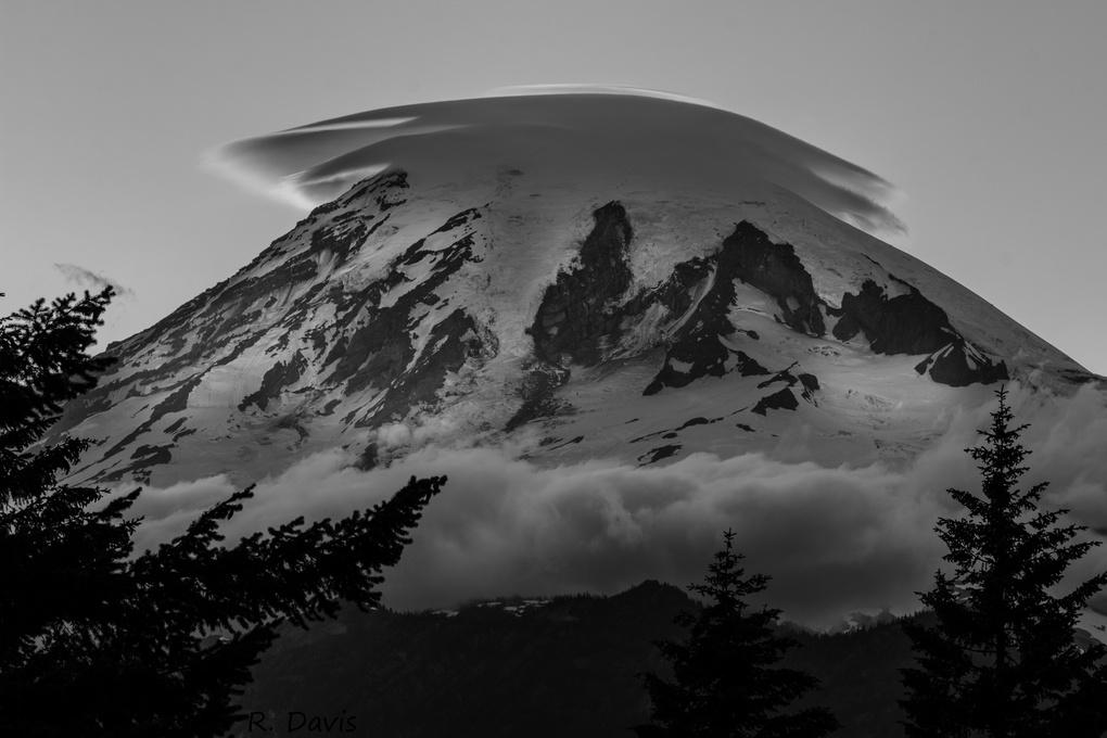 Mount Rainier Summit by Randal Davis