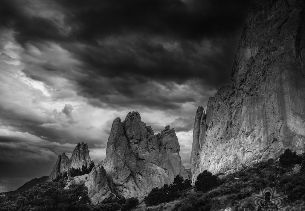 As the storm goes by Cooper Ricketts