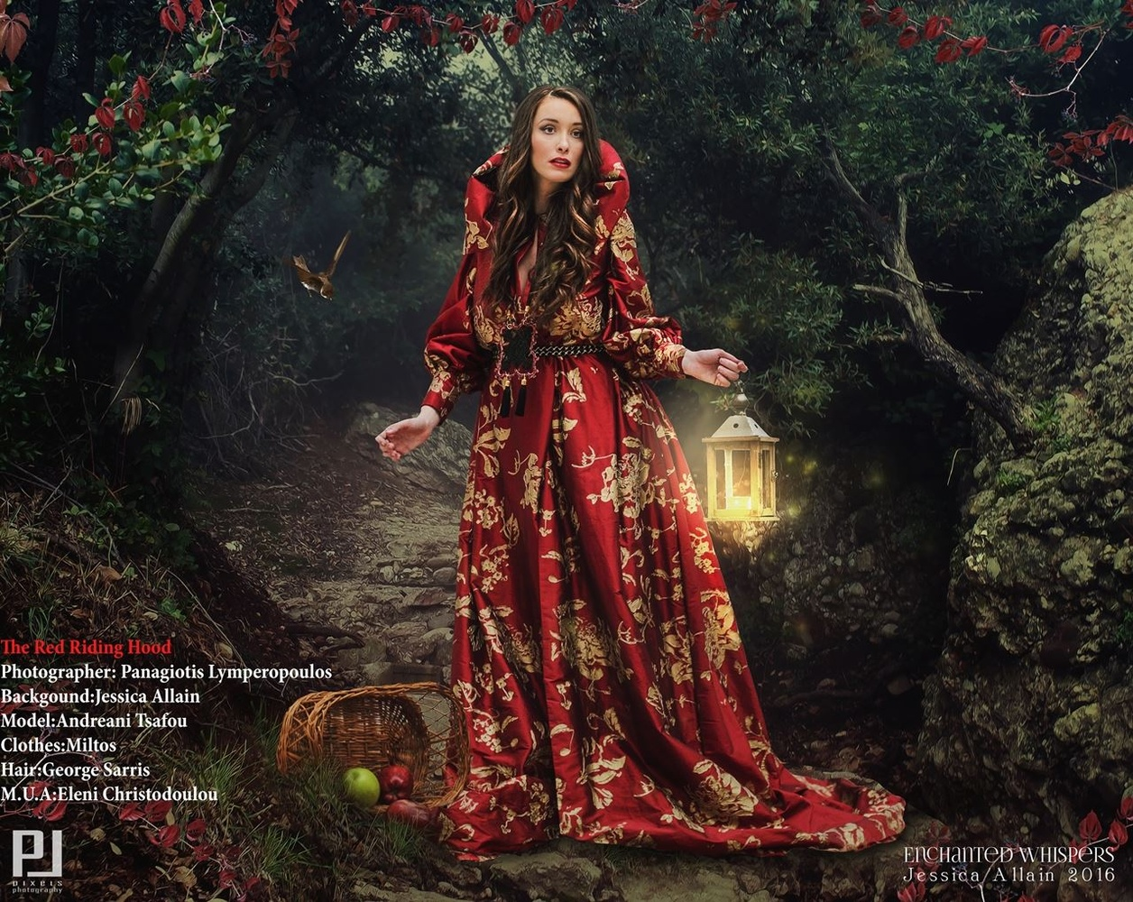 The Red Riding Hood by Panagiotis Lymperopoulos