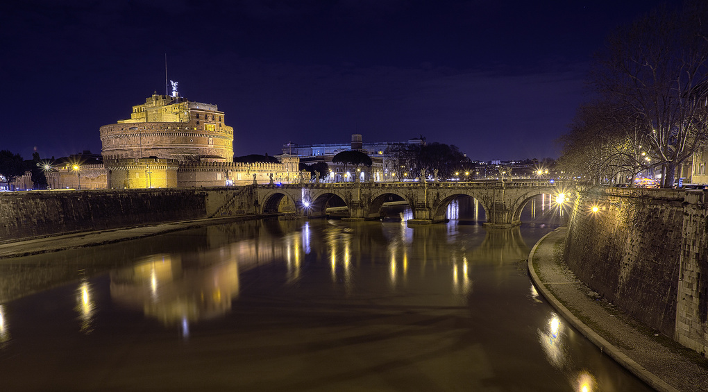 Castel S. Angelo by Eugenio Cammisa