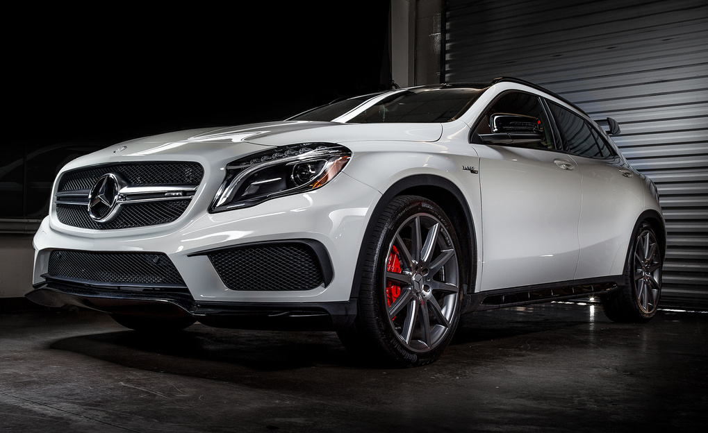 Light Painted AMG by Jason Berry