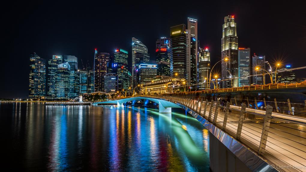 The Lightening Bridge  by Lionel Issara