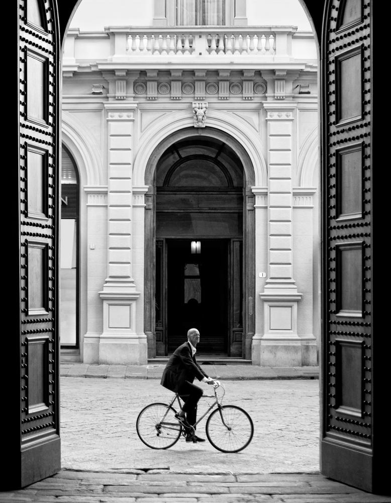 Florentine Businessman by Colleen Scott