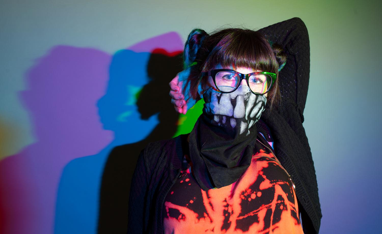 Street Artist - Wokeface  by Alex Moan