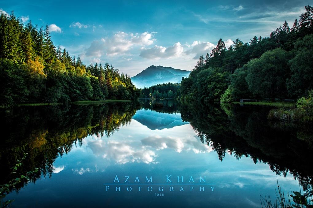 Glencoe Lochan by Azam Khan