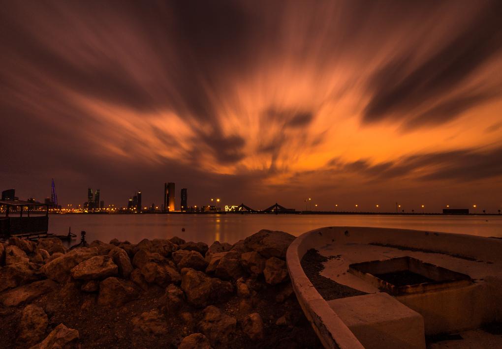 Sunset From Mars by Mustafa Bastaki