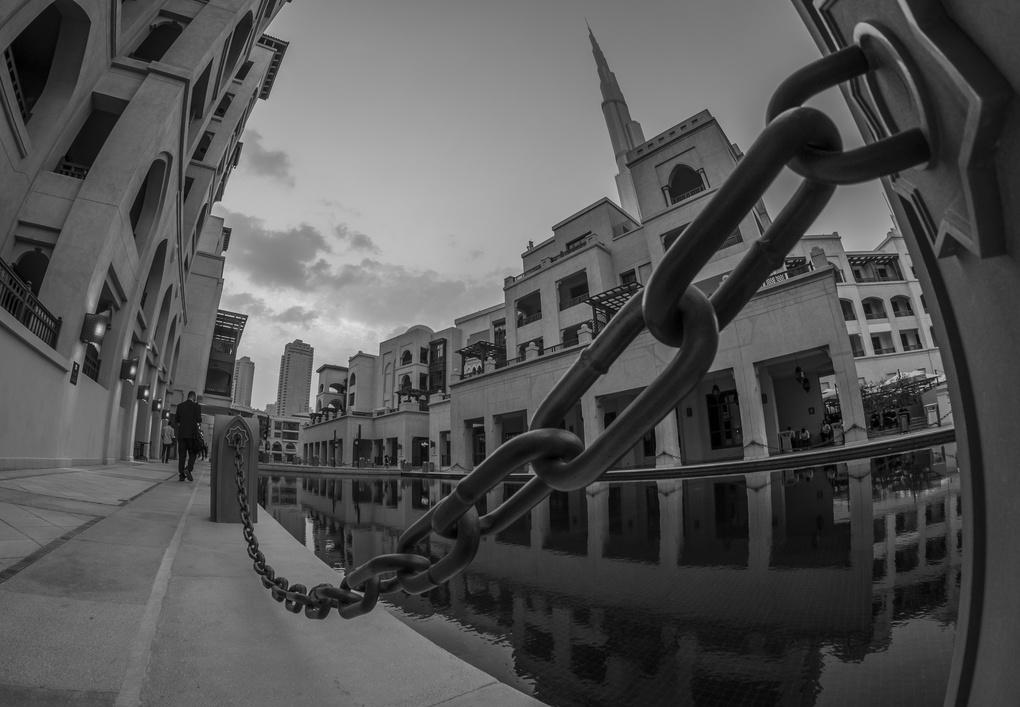 A Perspective of Dubai by Mustafa Bastaki