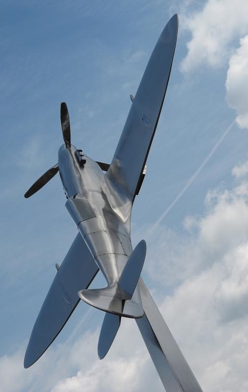 the Spitfire Flies by Graham Burton