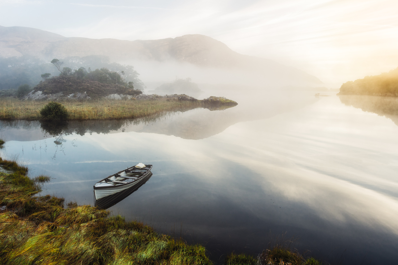 Upper Lake Sunrise by Mike O'Leary