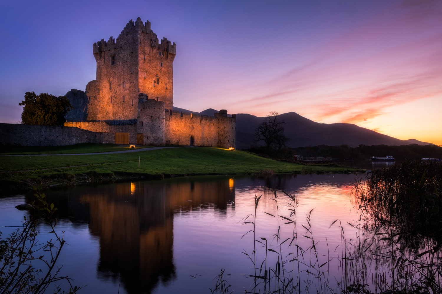 Ross Castle by Mike O'Leary