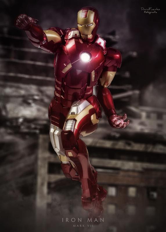 Iron Man Mark VII by David Fuentes