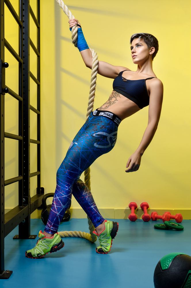 Fashion workout by Yaroslav Lukiyanchenko