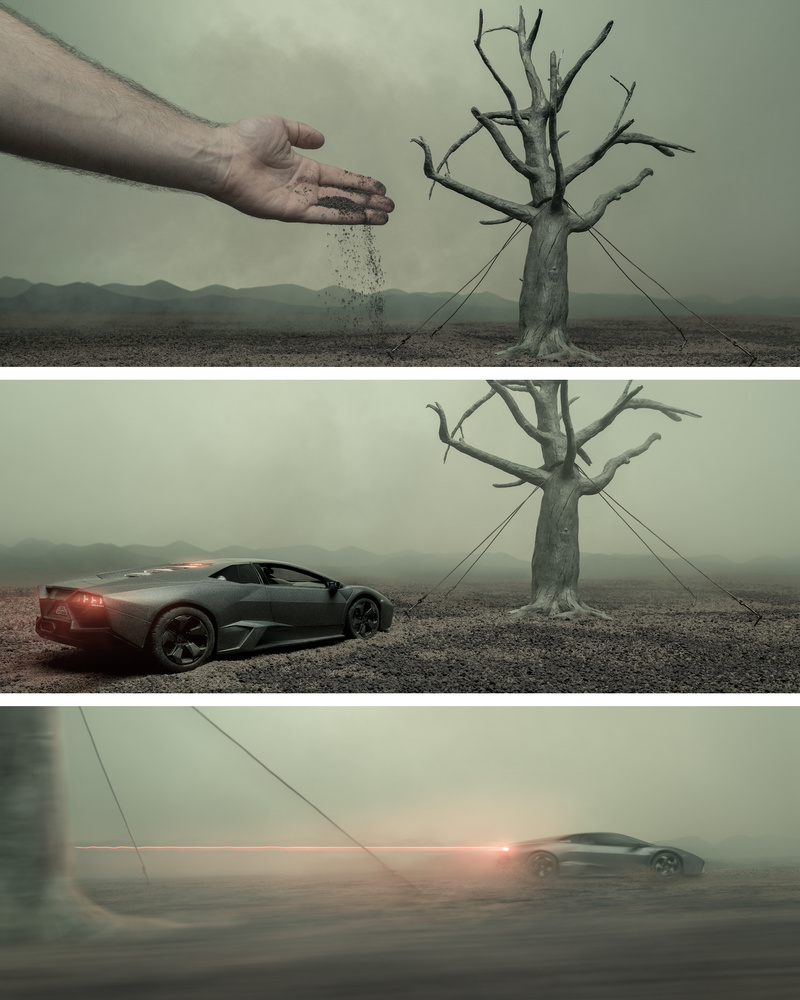Dead Tree Project BTS-01 by Yaroslav Lukiyanchenko