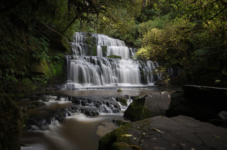 Purakanui Falls by Timo Kellenberger