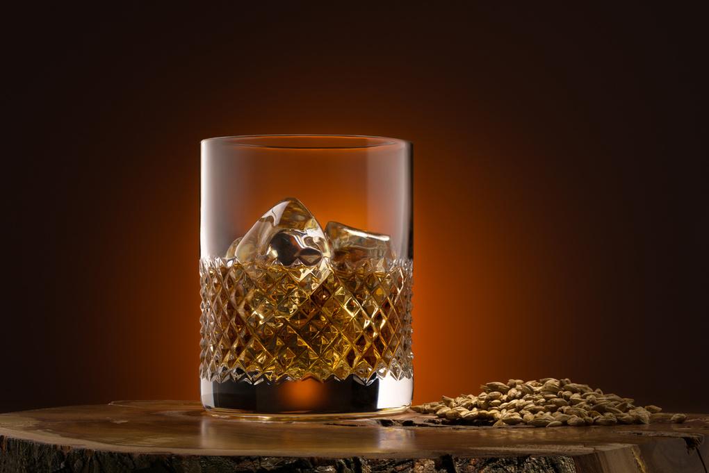 Whiskey In Glass  by Paweł Kruchowski