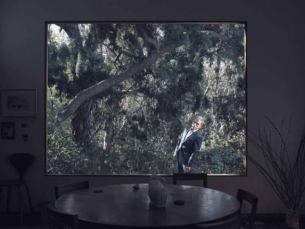 Christoph Waltz by Kurt Iswarienko by Kurt Iswarienko