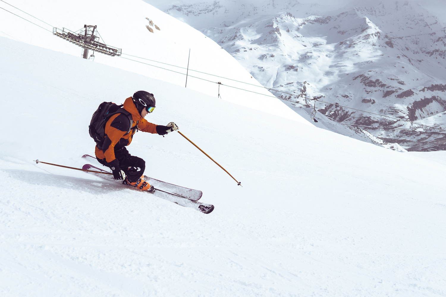 In the slopes by Oliver Rykatkin