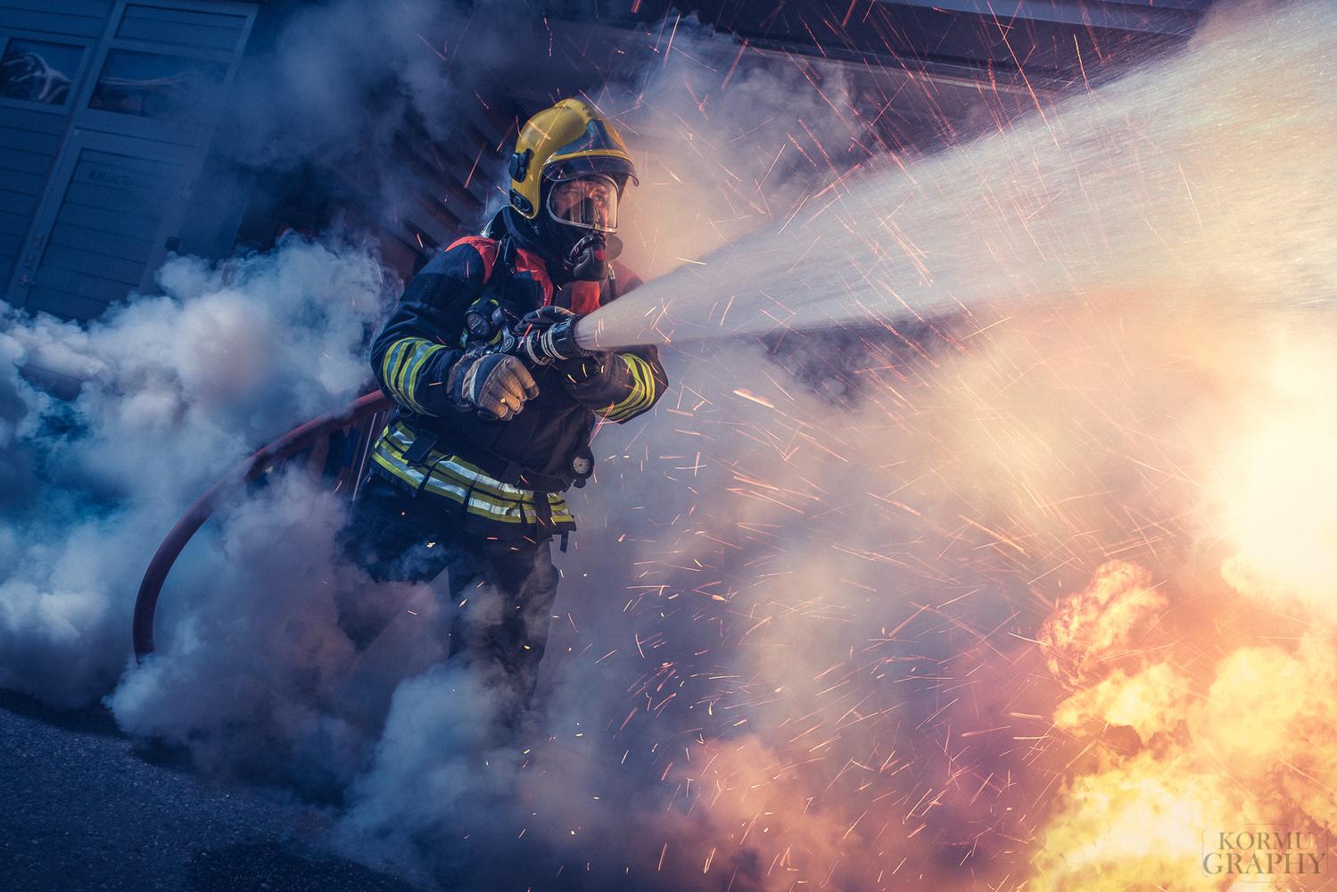 Firefighter by Jani Kormu
