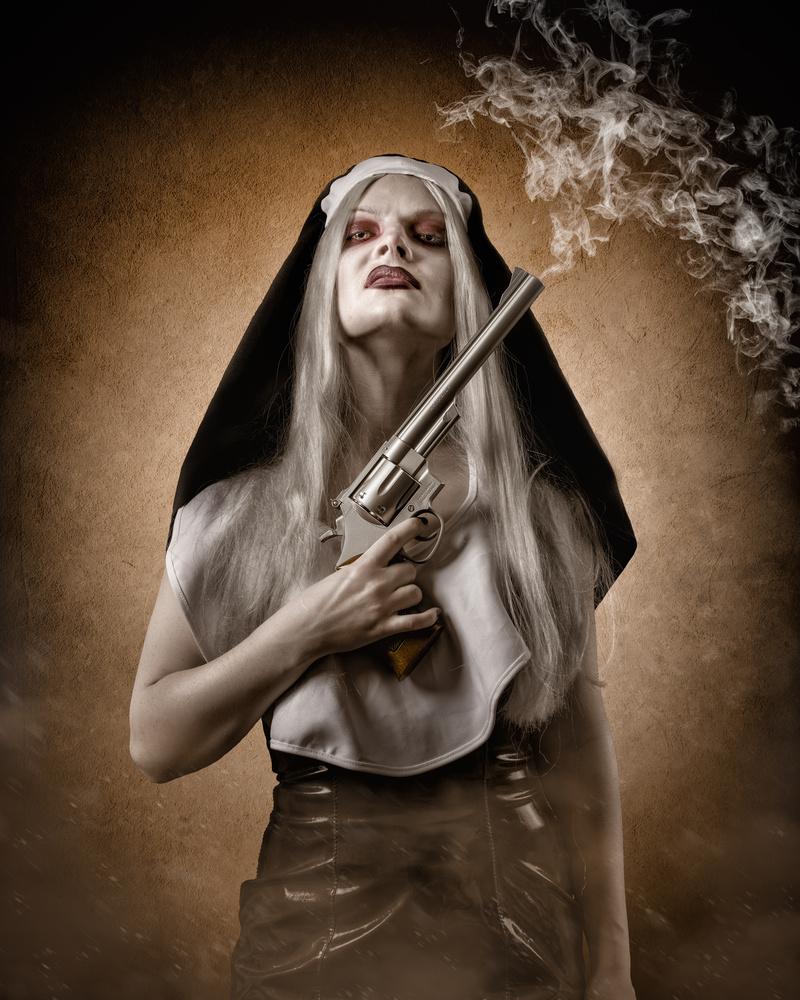 Badass nun by Petri Damstén