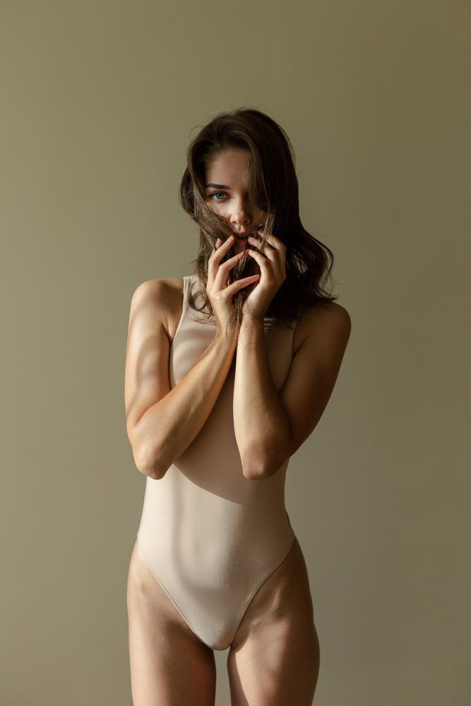 A beautiful woman by Danielius Eidiejus