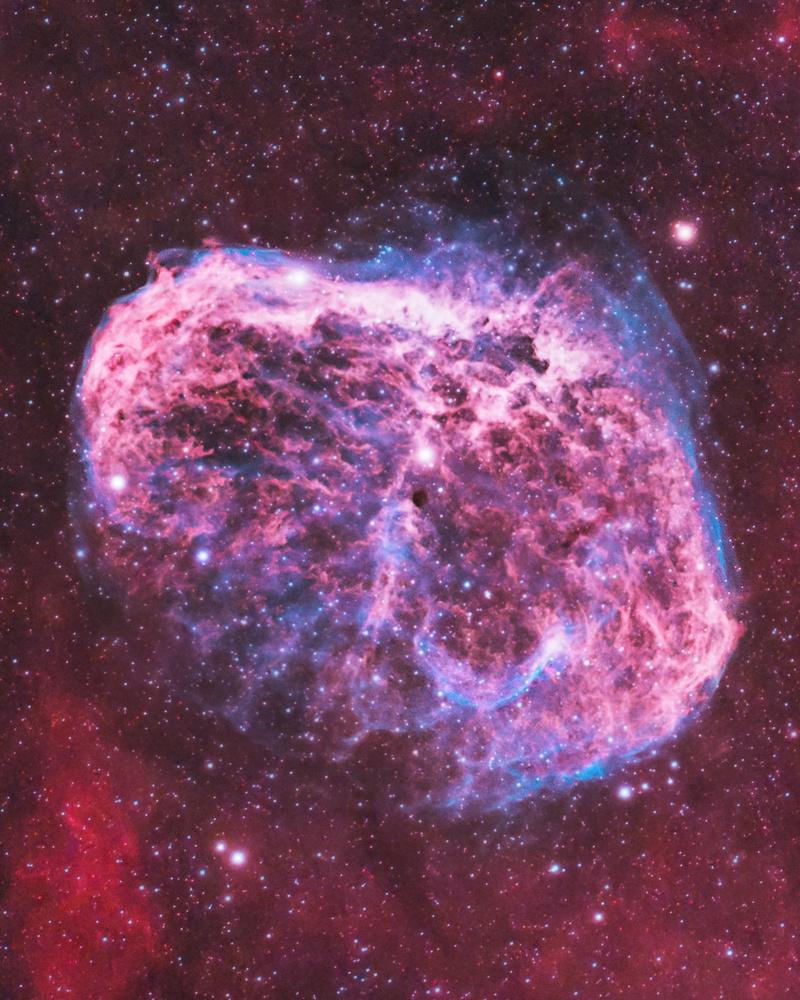 The Crescent Nebula by Trevor Jones
