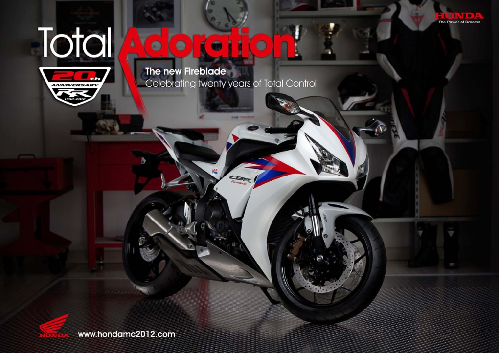 Honda Fireblade Advert by Adam Swords