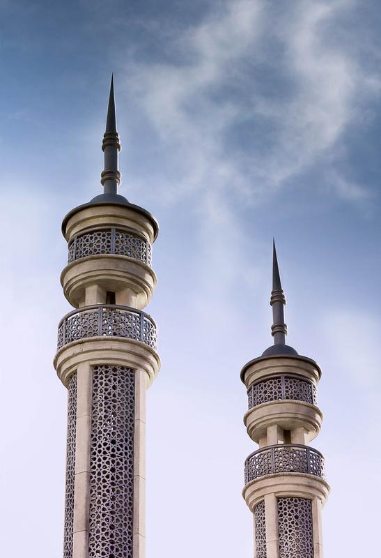 Minarets by Ali Marefat
