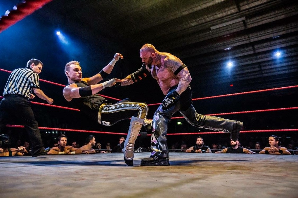 Wrestling  by Wayne Young