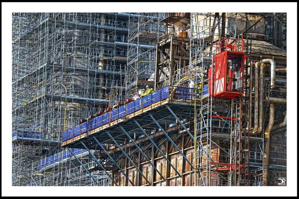 Furnace Platform by Carl Rogers