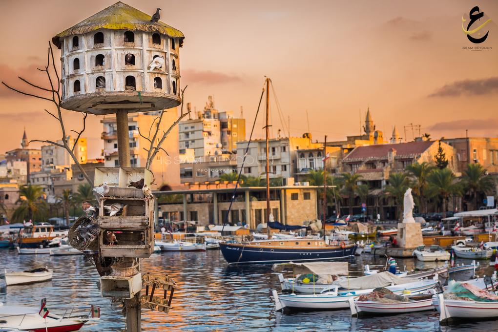 Tyre Fisherman Port  by issam beydoun