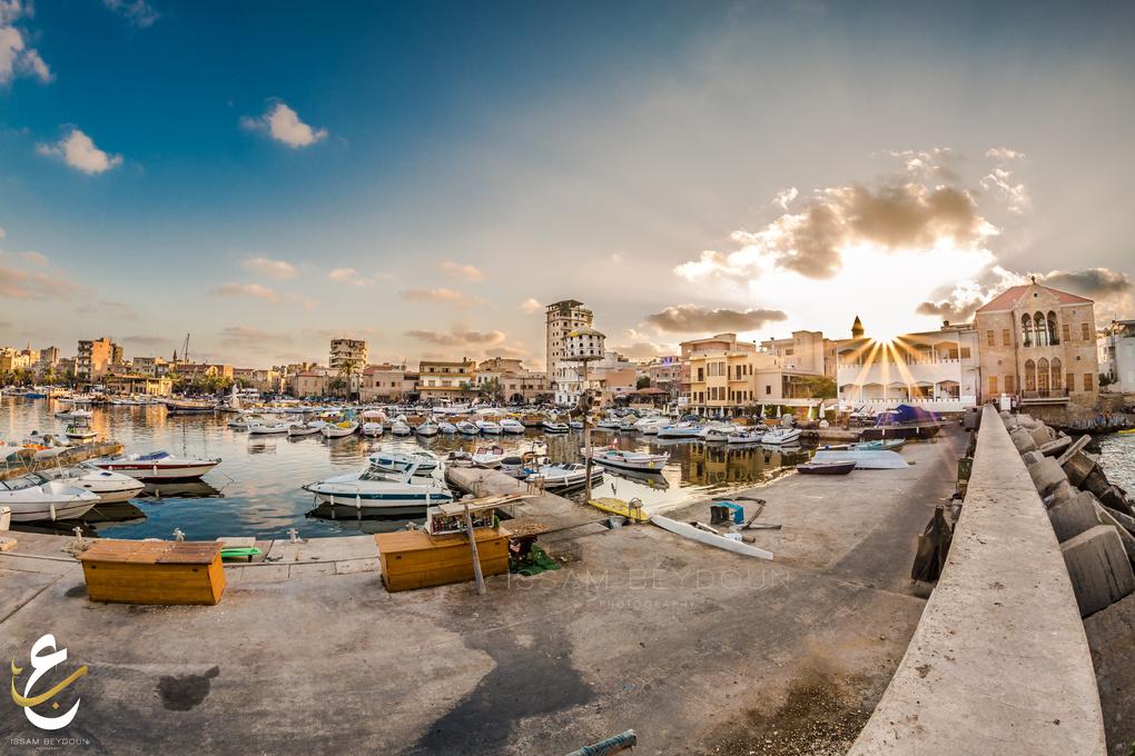 Fishermen port by issam beydoun