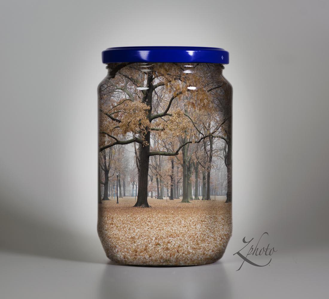 Park in a jar by Janna Broski