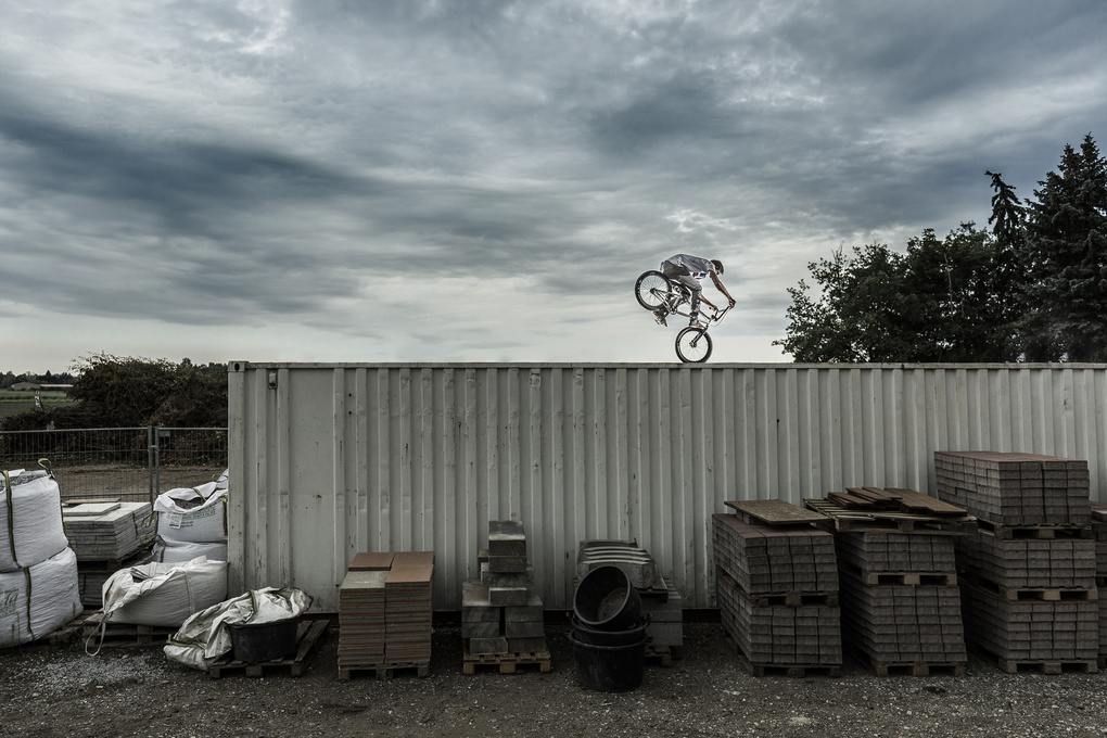 bmx #1 by Hannes Pablitschko