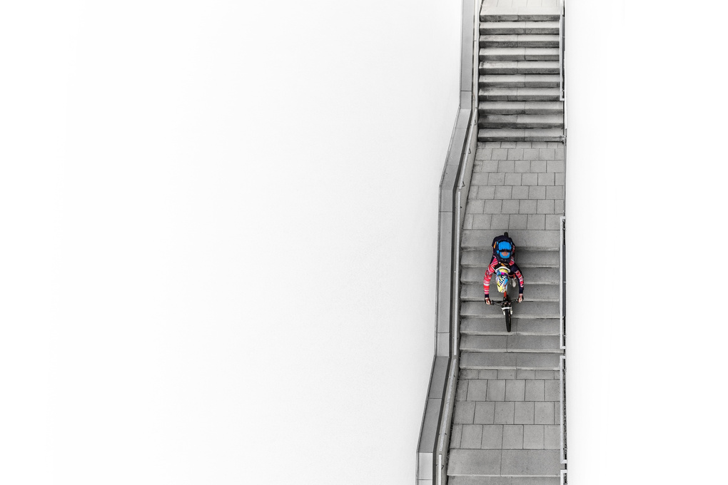 Downhill Stairs by Hannes Pablitschko