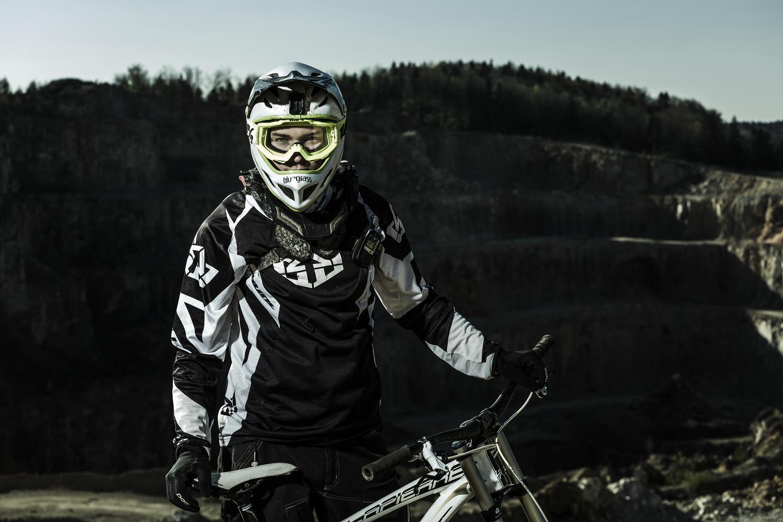 Downhill Portrait by Hannes Pablitschko