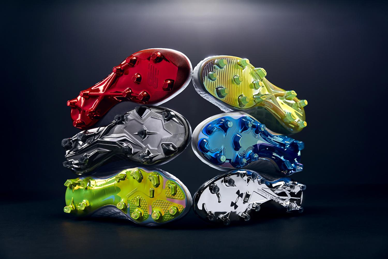 Shiny sole plates by Rob Passmore