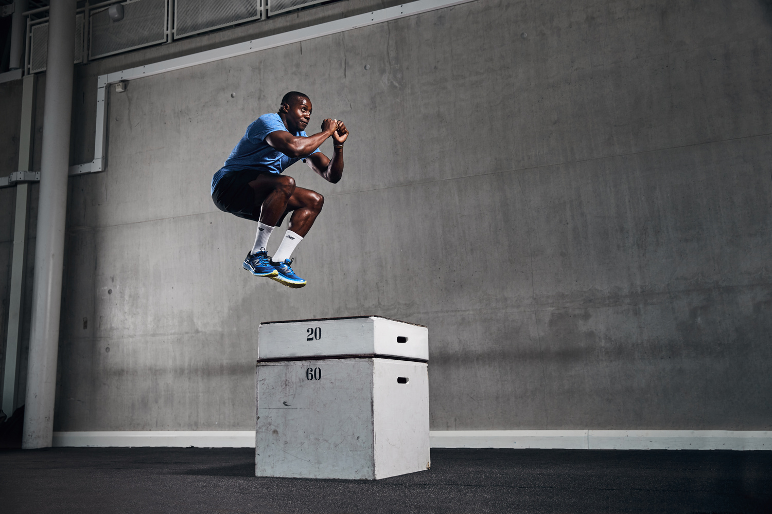 Box jump by Rob Passmore
