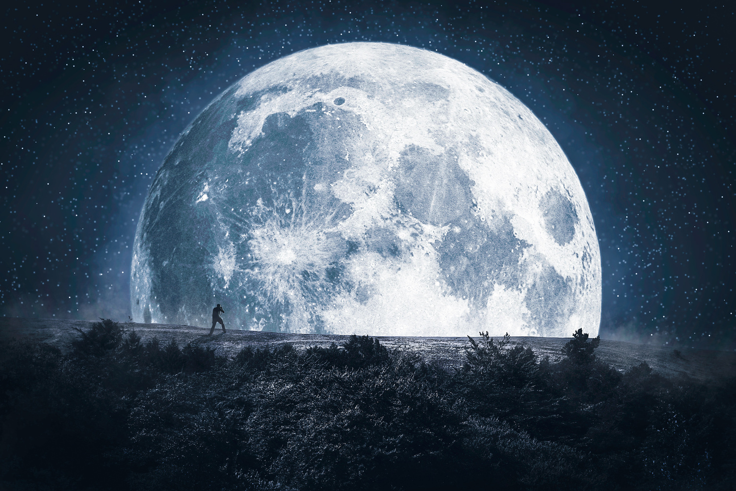 The Moon and Me by Gideon Way