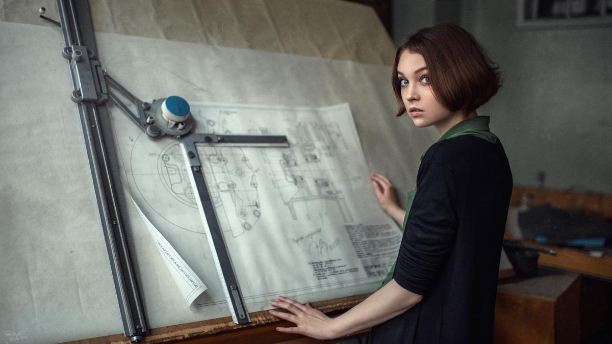 Engineer's daughter by Georgy Chernyadyev