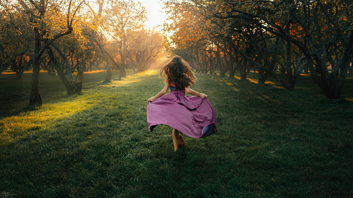 Fleeing summer by Georgy Chernyadyev