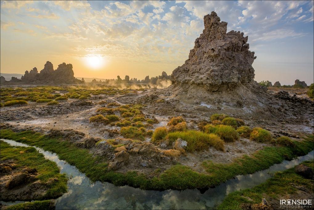 Djibouti Sunrise by Stephen Ironside