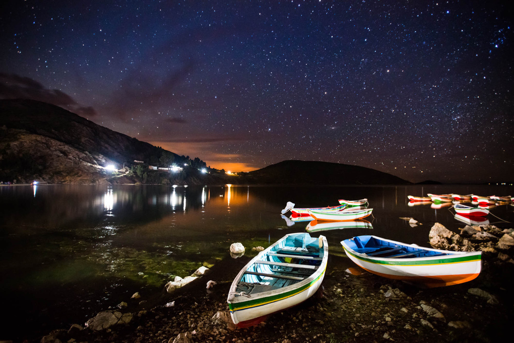 Rowboats and Stars by Stephen Ironside