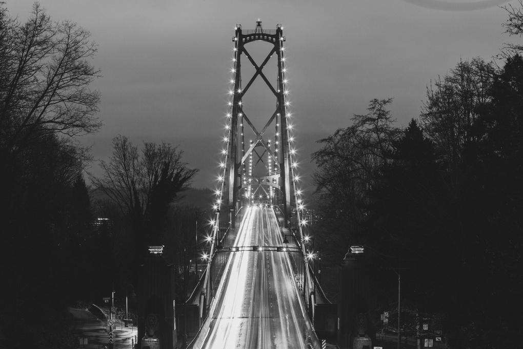 Lions Gate Bridge by Jordan Dueck