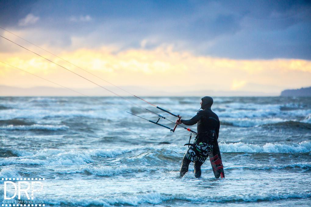 Kiteboard by Jordan Dueck