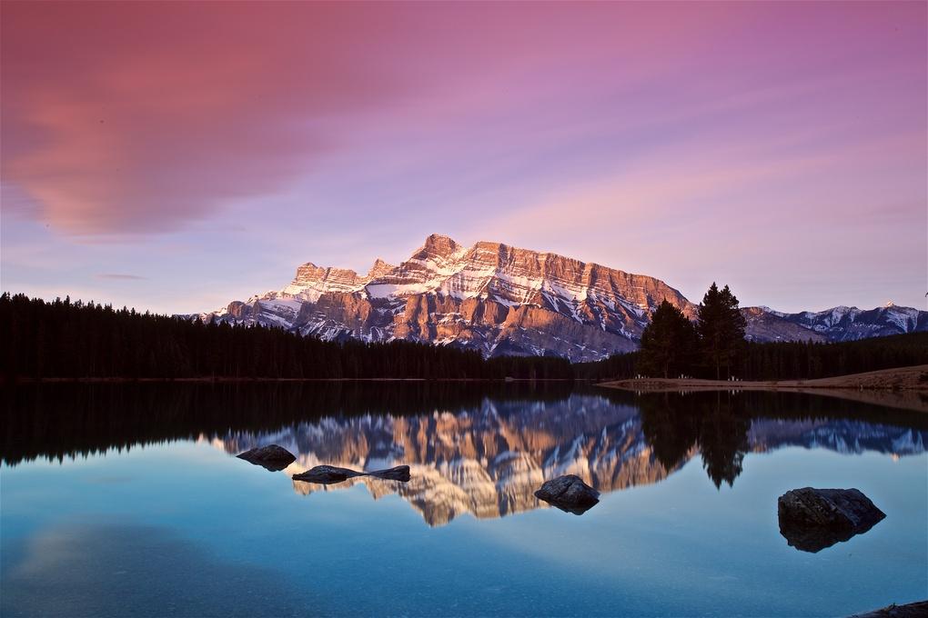 Two Jack Lake (Banff, Alberta) by Ross Tabalada