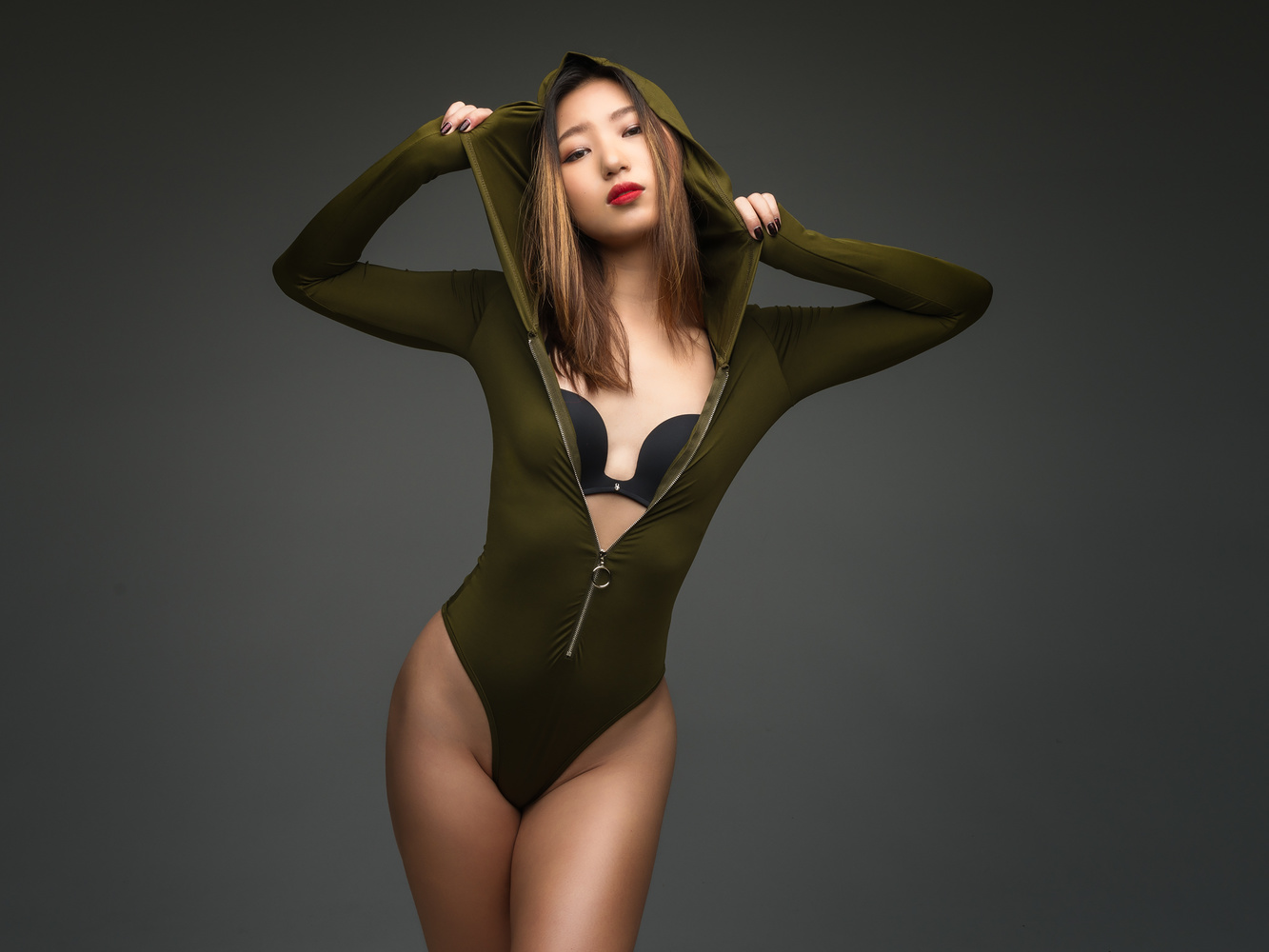 Fang Fei Lan in a Color Pose by Daniel Medley