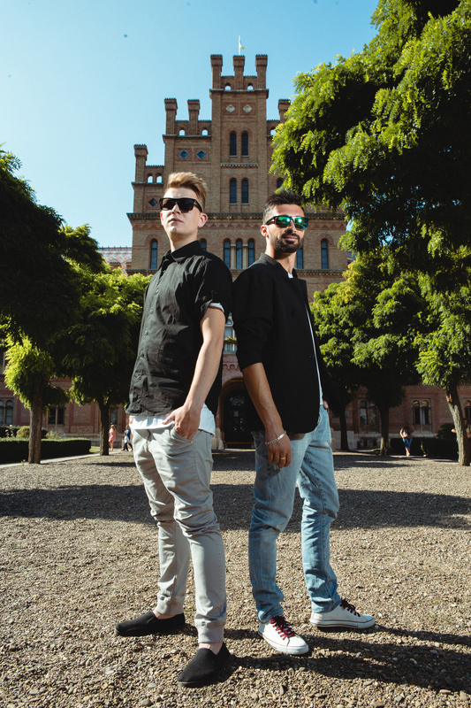 Commercial portrait of two guys by Sergii Chalenko