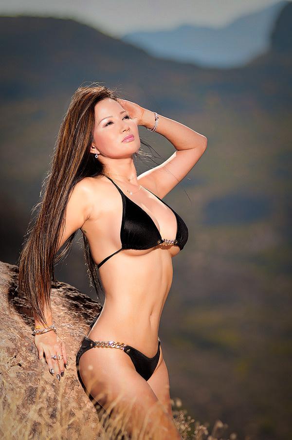 Nice morning for a Bikini shoot by Don Don